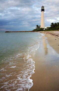 Cape Florida, Key Biscayne, Florida Please take me here!