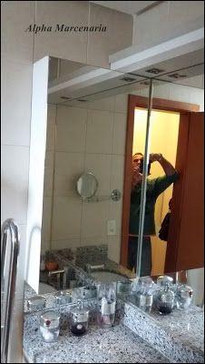 ALPHA MARCENARIA MÓVEIS SOB MEDIDA: Armário de Banheiro