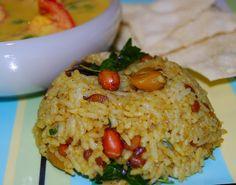 Amma's Puliodarai | Holy Cow! Vegan Recipes|Eggless Recipes