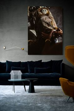 classic living room with modern NiQOO artwork. Check out our website niqoo.com for more info. Photos also available as aluminium print with acrylic glass.