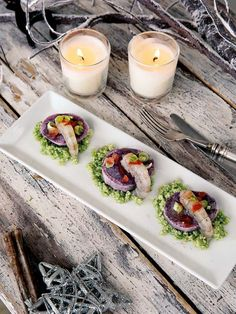 image Appetizer Recipes, Appetizers, Mini Foods, Light Recipes, Holiday Recipes, Nye Recipes, Food Inspiration, Brunch, Food And Drink