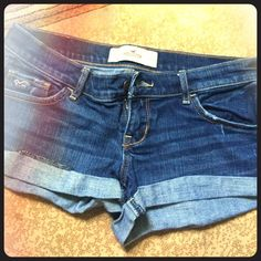 Shorts Jean shorts from Hollister size 5, no tags but never worn Hollister Shorts Jean Shorts