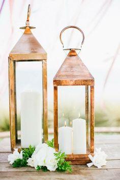 Stunning Glittery & Sequined Gold Wedding Inspirations