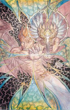 Lucifer Vol. Vertigo Comics, Modern Magic, Comic Art Community, Rare Images, Goth Art, Morning Star, Batman And Superman, American Comics, Comic Book Artists