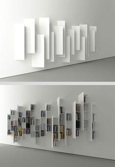 """Résultat de recherche d'images pour """"meuble bibliotheque coulissant double paroi"""""""