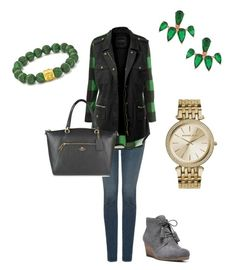 """Happy St. Patrick's day"" by kelly-nalean-james on Polyvore featuring NYDJ, Dr. Scholl's, LE3NO, Armadoro, Michael Kors and Coach"