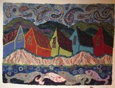 a readily recognizable Deanne Fitzpatrick piece...love the paisley sky