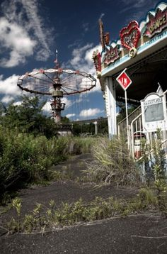 Nara Dreamland, Japan. Pics of abandoned amusement parks make me so sad