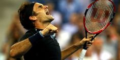 Roger Federer saves 2 match points and defeats G. Monfils for a place in SF