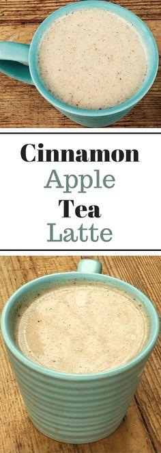 Cinnamon Apple Tea Latte - Homemade and Easy!