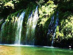 Exploring NorCal: Mossbrae Falls - Sacramento River - Dunsmuir, CA