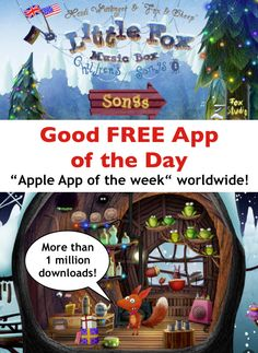 Good Free App of the Day: Little Fox! More then 1 Million Downloads!