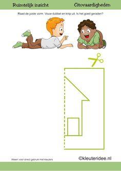 Begeleide of zelfstandige activiteit - Citovaardigheden voor kleuters (ruimtelijk inzicht)