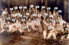 The group shot above shows 3rd platoon on a rest break during the 120 mile march of 2nd Bn from Toccoa to Atlanta, late 1942. 3) Hank Hanson, 5) Pace, 6) Schuyler, 8) K. Baldwin, 9) Booy, 10) Ranney, 12) Ramirez, 13) Powers, 15) P. Rogers, 16) B. Taylor, 17) Tipper, 18) C.T. Smith, 19) Red Wright, 20) Tridle, 21) Strohl, 22) Clarence Hester, 23) Harris, 24) Lipton, 25) Guth, 26) Perconte, 27) West, 28) Fenstermaker, 29) Wynn, 30) Moore, 32) Talbert, 33) Fieguth, 34) Gordon, 36) Sisk, 37)…