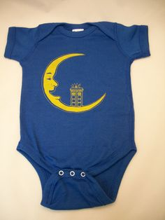 Doctor Who onesie, future baby will definitely have one of these!