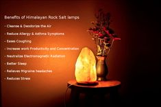 Please Repin  Lets talk about salt lamp benefits – people that are using salt lamps have reported improvement in their physical and mental well-being soon after starting to light them.
