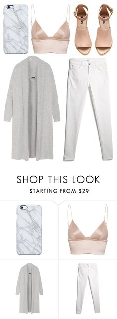"""""""to me"""" by grey-eyes ❤ liked on Polyvore featuring Uncommon, T By Alexander Wang, Joseph, MANGO and H&M"""