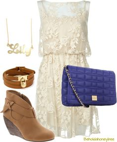 lace outfit .. date look