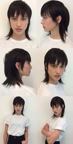 stylish mullet haircut, looks good                                                                                                                                                                                 More