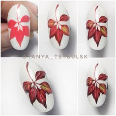 39 fantastic white leaf nail art designs to look pretty on your big day 3 – JA. - 39 fantastic white leaf nail art designs to look pretty on your big day 3 – JANDAJOSS.