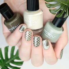 """1,808 Likes, 8 Comments - MoYou-London Official (@moyou_london) on Instagram: """" @borsch_nails ⠀ #MYLTakeover⠀ ⠀  This monstera nail art is last but not least! For it I used…"""""""