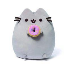GUND Pusheen Snackables Donut Plush Stuffed Animal – ToyRoo - Magical World of Toys! Sushi Plush, Sushi Cat, Grey Tabby Cats, Baby Alive Dolls, Stuffed Animal Cat, Pusheen Cat, Comic, Kawaii, Bear Toy