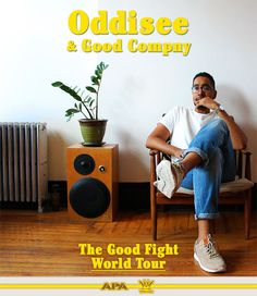 Fri 11 September - Oddissee & Good Company Live support from This Side Up & DJ Scorpio at Something Special, Good Company, Bristol, Rapper, Atlanta, Dj, Hip Hop, Tours, Good Things