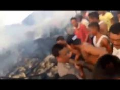 Kebakaran di Ketapang Gang Nias
