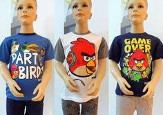 Angry Birds Schlafanzug Pyjama Set kurz 100% Baumwolle Gr.104,116,128,140,152