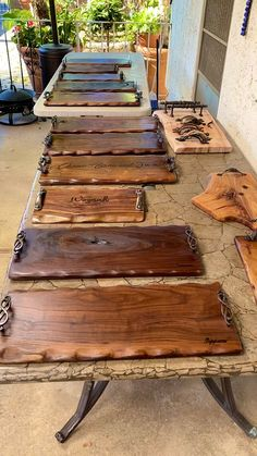 Diy Wooden Projects, Welding Art Projects, Small Wood Projects, Diy Furniture Plans Wood Projects, Woodworking Projects Diy, Wooden Diy, Wood Crafts, Furniture Ideas, Salvaged Wood Projects