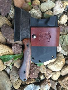 Custom cleaver I made ajh_knives@yahoo.com                                                                                                                                                                                 More