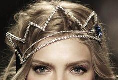 rhinestone crown / tiara