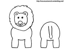 Cartoon elephant animals coloring pages for kids