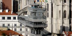 Get to know Lisbon in 15 buildings - The Spaces Paris Torre Eiffel, Lisbon City, Portuguese Culture, Round Trip, Day Trips, Street View, Architecture, World, Buildings