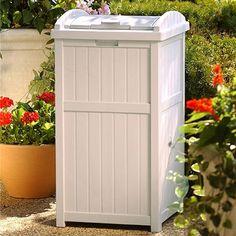Hideaway Outdoor Trash Container