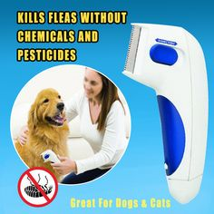 Never worry about fleas again with this electric flea comb 🐈🐶 - Tiere EUT Cute Baby Animals, Animals And Pets, Funny Animals, Funny Dogs, Dog Items, Flea And Tick, Cool Inventions, Useful Life Hacks, Pet Health