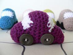 Amigurumi Patterns Cars : Tiny wheels crochet cars crochet car crochet and amigurumi