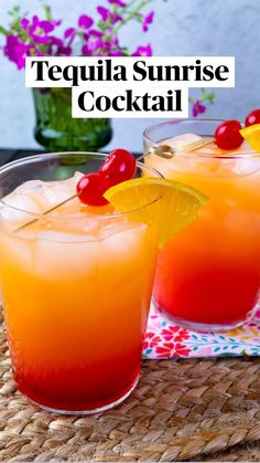 Fruity Alcohol Drinks, Alcohol Drink Recipes, Mix Drink Recipes, Orange Juice Alcoholic Drinks, Tropical Alcoholic Drinks, Fun Summer Drinks Alcohol, Beach Drink Recipes, Healthy Alcoholic Drinks, Rum Punch Recipes