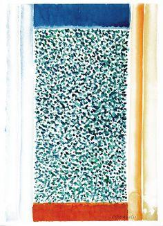 Stefan GIEROWSKI (ur. 1925)  Bez tytułu akwarela papier, 37,5 x 26 cm; sygn. p. d.: S. Gierowski
