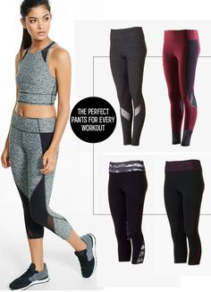 Get back to feeling your best in EXP Core. For runners or yogis, the compression leggings with cut-out details and mesh insets allow for air flow and a full range of motion. If you love a good spin class, opt for the cropped compression leggings that will keep you feeling confident, and won't get caught on the pedals. The tech fabrics keep you dry and cool, no matter how you like to sweat.