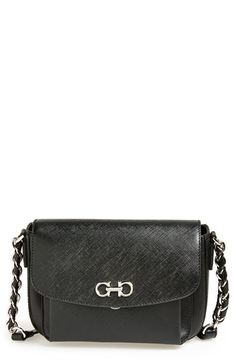 bdd463c44e21 Salvatore Ferragamo  Sandrine  Leather Shoulder Bag available at  Nordstrom  Leather Shoulder Bag