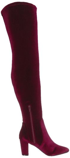 0673daaa8ebd LFL by Lust for Life Womens Lex Knee High Boot Burgundy 7.5 Medium US * See