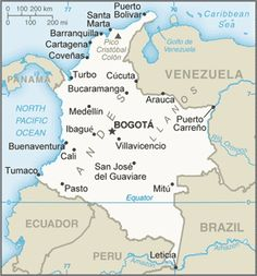 """COLOMBIA TRAVEL WARNING: The U. Government """"warns U. citizens of the risk of traveling to Colombia, due to an increase of violent crimes, including crime resulting in the deaths of American citizens. Colombia Facts, Colombia Map, Colombia Travel, Colombia Geography, Ecuador, Colombia Country, Travel Alerts, Country Information, Ap Exams"""