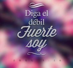 #Débil #Fuerte #DiosEstáContigo ¿Lo crees?  Síguenos por nuestras redes sociales:   http://www.universal.org.mx  https://www.facebook.com/IglesiaUniversalMexico/ http://www.twitter.com/UnivMx http://www.instagram.com/UniversalMexico