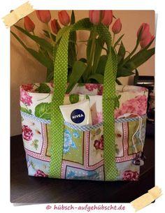 Hübsch aufgehübscht: Kleine Frühlingstasche ~ Tutorial