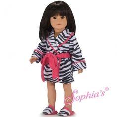 Trendy Dolls - Zebra Robe