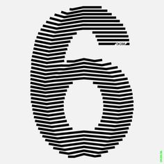 EVA - try number made up of 6 thicker lines Typography Design, Logo Design, Lettering, Op Art, Visual Aids, 3d Logo, Information Design, Line Art, Signage