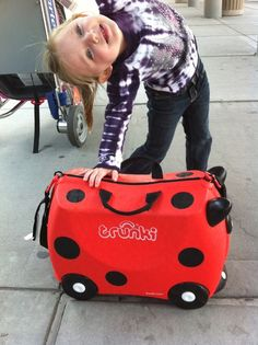 One of our favorite traveling items!  The Trunki