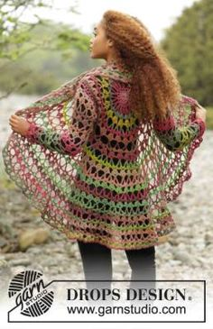 15 FREE Circular Vest Crochet Patterns - The Lavender Chair. LOVE this! (the yarn for this is 100% wool though :(