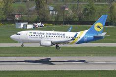 Ukraine International Airlines Boeing 737-500; UR-GAU@ZRH;10.04.2014/750ae